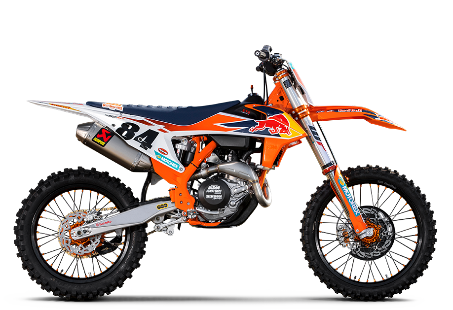 Motorradsport Schmitt in Binningen - KTM 450 SX-F HERLINGS REPLICA 2020
