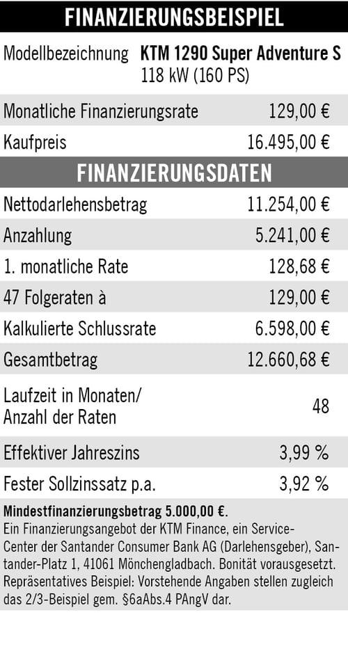 KTM Vertragshändler Motorradsport Schmitt - 4 Jahre Garantie KTM Adventure