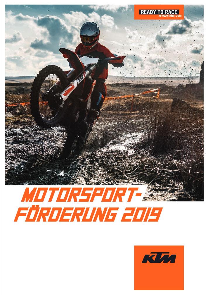 KTM Vertragshändler Motorradsport Schmitt - KTM Motorsportförderung 2019